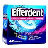 box of efferdent