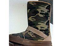 camo canvas boots