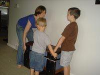 Moving furniture off carpet