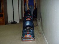 running carpet extractor
