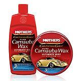 bottles of carnauba wax