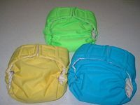 bunches of cloth diapers