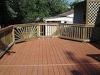 completely empty deck