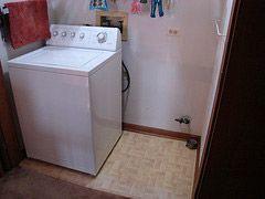 empty dryer space
