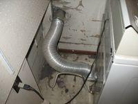 Dryer outdoor vent