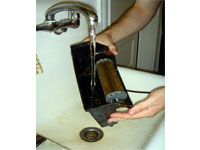 rinsing filter