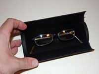 glasses in a proper case