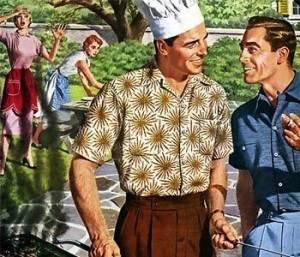 """I just told her I cleaned the grill with hydrochloric acid!"""