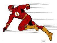 Flash the superhero