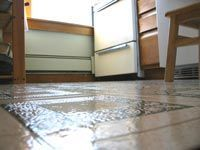 Does Cleaning A Linoleum Floor With Vinegar Actually Disinfect And Bring  Out The Natural Shine Of Your Linoleum? You Be The Judge.