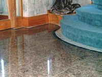 ... Shiny Marble Floor
