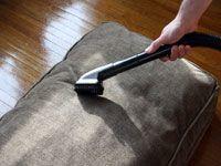 vacuuming microfiber