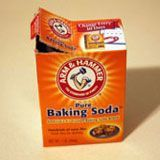 box of baking soda