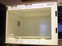 A clean microwave