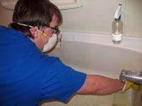 Scrubbing tub