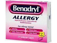 box of benadryl