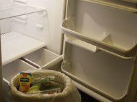 An empty refrigerator