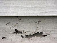 cracked siding
