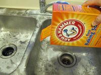 How To Clean Kitchen Sink With Baking Soda