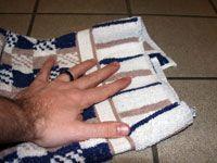 hand drying stone