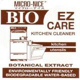 Box of Bio-Nice kitchen cleaner