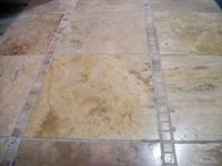 swept travertine