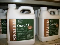 jugs of sealer