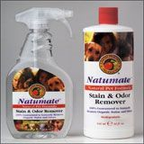 bottles of natumate cleaner