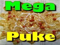 fake pile of mega puke