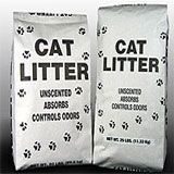 bags of cat litter