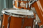 Drum sitting on the floor