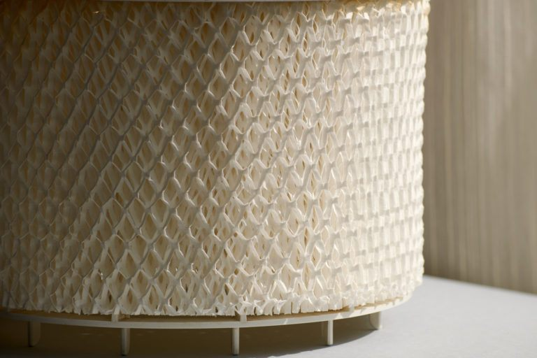 A humidifier filter.