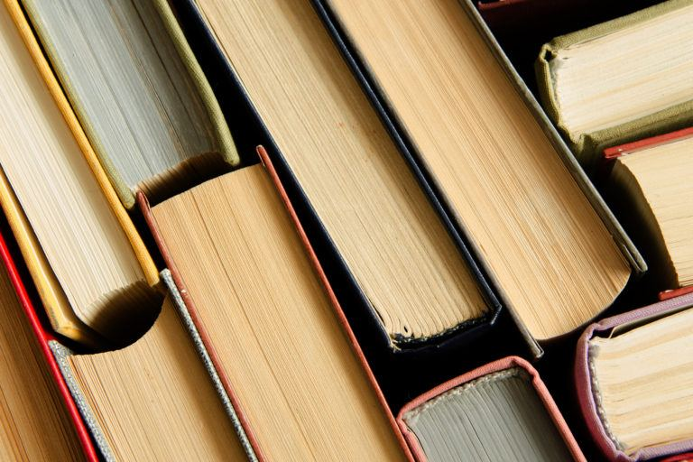 Several books.