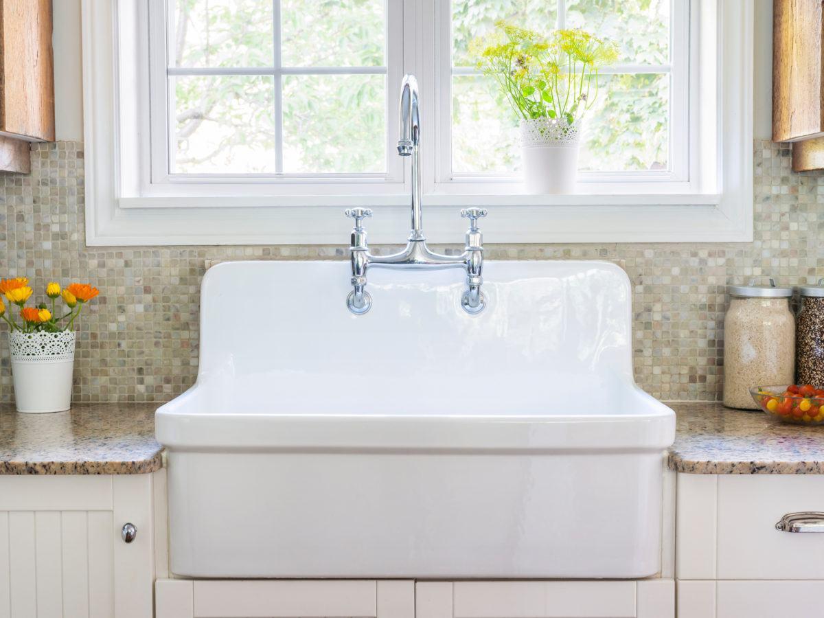 how to clean ceramic kitchen sink how to clean a porcelain sink 8538